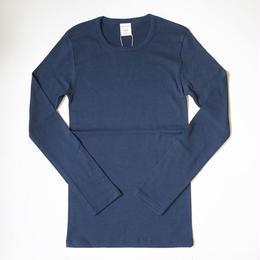イタリア製・裏薄起毛・フライス・長袖シャツ    (IA0104)