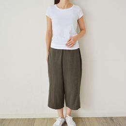 フレンチスリーブ バレットネックTシャツ    (PH9103)