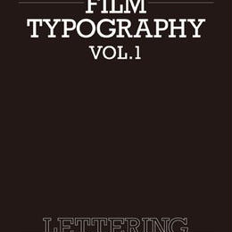 FILM TYPOGRAPHY vol.1 LETTERING