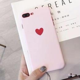 【即納】ハート ピンク  iPhoneケース
