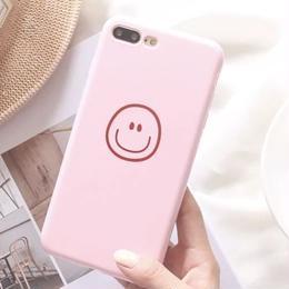 【即納】スマイル シンプル  iPhoneケース