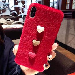 【即納】iPhoneケース ハート 秋冬 秋 冬 大人 スマホケース 携帯 カバー アイフォン6 6s アイフォン7 アイフォン7プラス アイフォン8 アイフォン8プラス X XS XSMAX XR