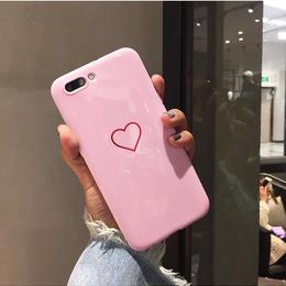 【即納】ハート シンプル  iPhoneケース