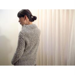 loop bijou Pullover grey