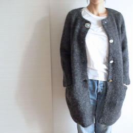 mohair bijoux Coat charcoal