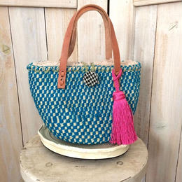 【SALE】petit boa basket blue