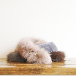 fox bijou muffler brown