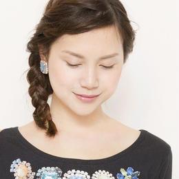 bijoux earrings candy blue