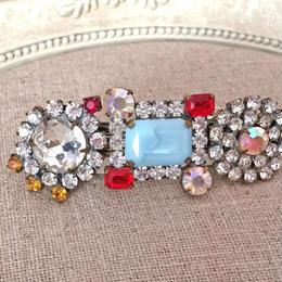 bijoux barretta clear x light blue
