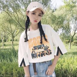【お取り寄せ商品】レトロショートスリーブ Tシャツ 半袖tシャツ LT08