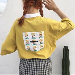 【お取り寄せ商品】プリントショートスリーブポロシャツ LT09