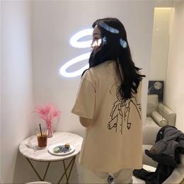 【商品番号LT88】ビッグサイズバックプリントTシャツ LT88