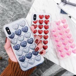 【お取り寄せ商品】ハートカプセル iPhoneケース i07