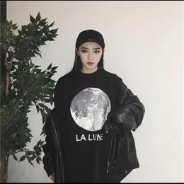 【お取り寄せ商品】コットンムーンプリントTシャツ LT52