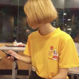 【お取り寄せ商品】M&K プリントTシャツ LT48