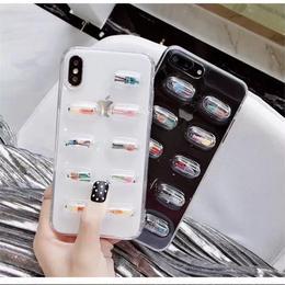 【お取り寄せ商品】カプセルソフトiPhoneケース