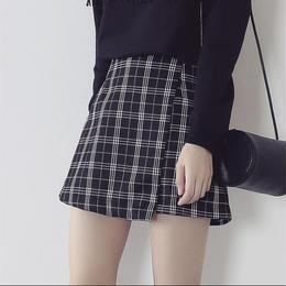 【お取り寄せ商品】チェックストライプスカート LS02