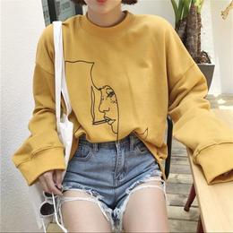 【お取り寄せ商品】スモーカープリントロングTシャツ LT82