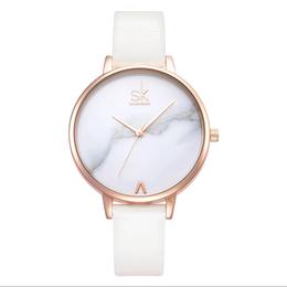 【お取り寄せ商品】カジュアルストラップレザークォーツ時計