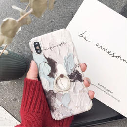 【お取り寄せ商品】ペイントバンカーリングiPhoneケース