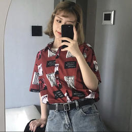 【お取り寄せ商品】ヴィンテージショートスリーブプリントTシャツ LT17