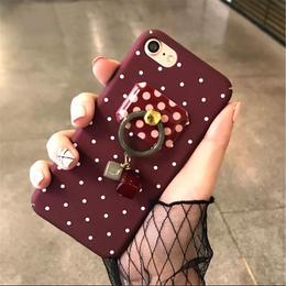 【お取り寄せ商品】ドットスタイルバンカーリングiPhoneケース