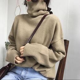 【お取り寄せ商品】シックスタイルタートルネックセーター LT61