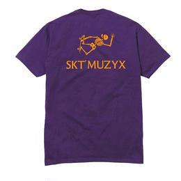 SKATE MUZIK Adventure tee - Purple