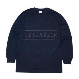 HELLRAZOR REFLECTOR L/S SHIRTS NAVY