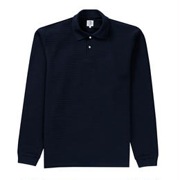 POLAR SKATE CO. STRIPED POLO SHIRT - NAVY