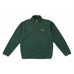 DIME POLAR FLEECE HALF-ZIP GREEN