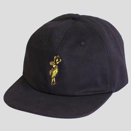 PASS~PORT - INTERNATIONAL LADY ~ 6 PANEL CAP BLACK