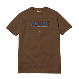DIME DIME THE GATHERING T-SHIRT Brown