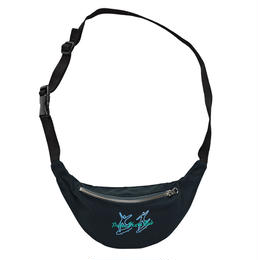 POLAR SKATE CO. DOODLE HIP BAG Black