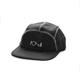 POLAR SKATE CO. ZIG ZAG SPORT CAP Black