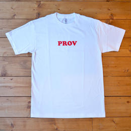PROV 90'S LOGO T-SHIRT WHITE