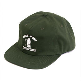 PASS~PORT - INWARD JOURNEYS CAP - GREEN