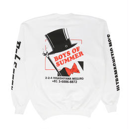 Boys Of Summer Crew Sweatshirt White