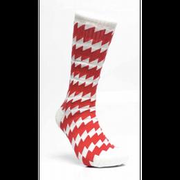 CSC X CHRYSTIE Socks White/Red