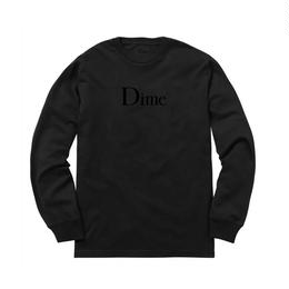 DIME CLASSIC LONG SLEEVE T-SHIRT BLACK