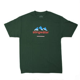 STING WATER FRENCH ALPS FOREST GREEN TEE