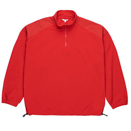 POLAR SKATE CO. LIGHTWEIGHT PULLOVER FLEECE RED
