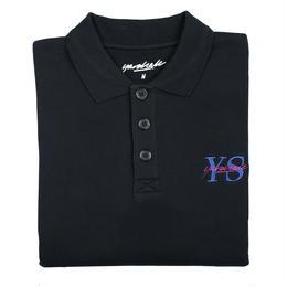 YARDSALE Black YS Polo sweat