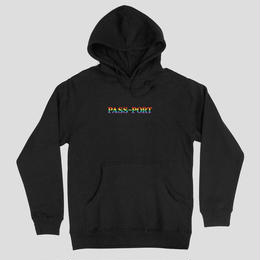 PASS~PORT - PRIDE OFFICIAL HOODY BLK