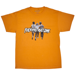 FUCKING AWESOME Friends Tee Peach