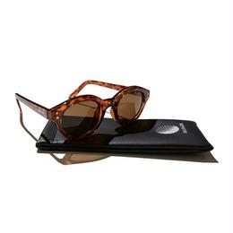 Hellrazor Monk Sunglasses - Brown