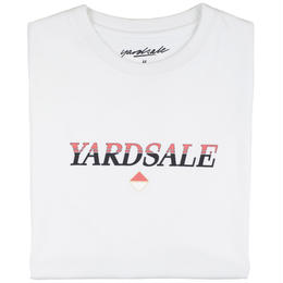 YARDSALE WHITE DIAMOND T-SHIRT