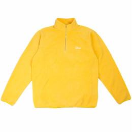 DIME POLAR FLEECE HALF-ZIP YELLOW