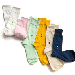 CHRYSTIE NYC  C LOGO CASUAL SOCKS