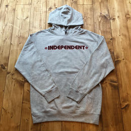 Independent Truck Co. Bar & Cross Pullover Hoodie - GREY